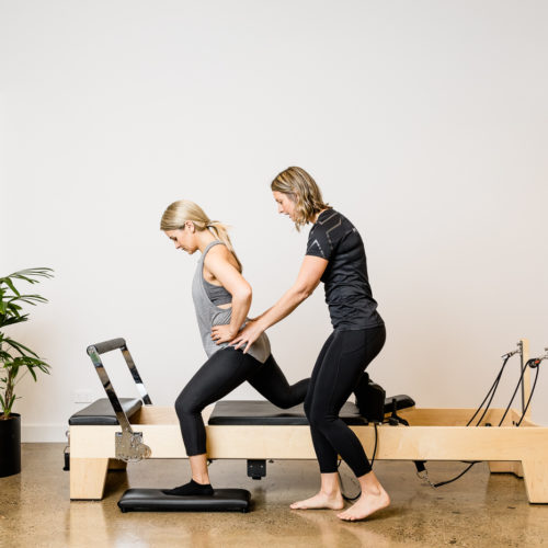 clinical pilates hip rotations